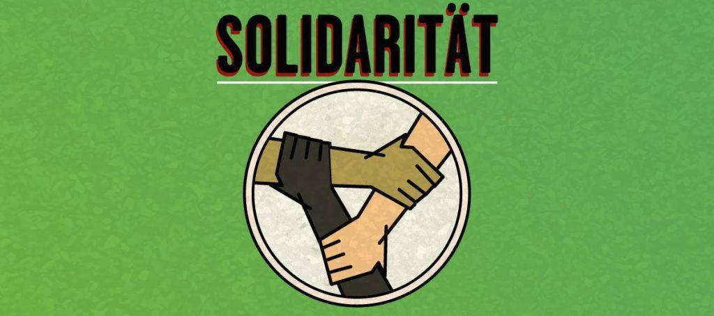 Vierte der Forderungen: Solidarität