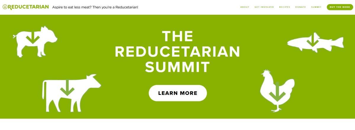 Reducetarian Webpage
