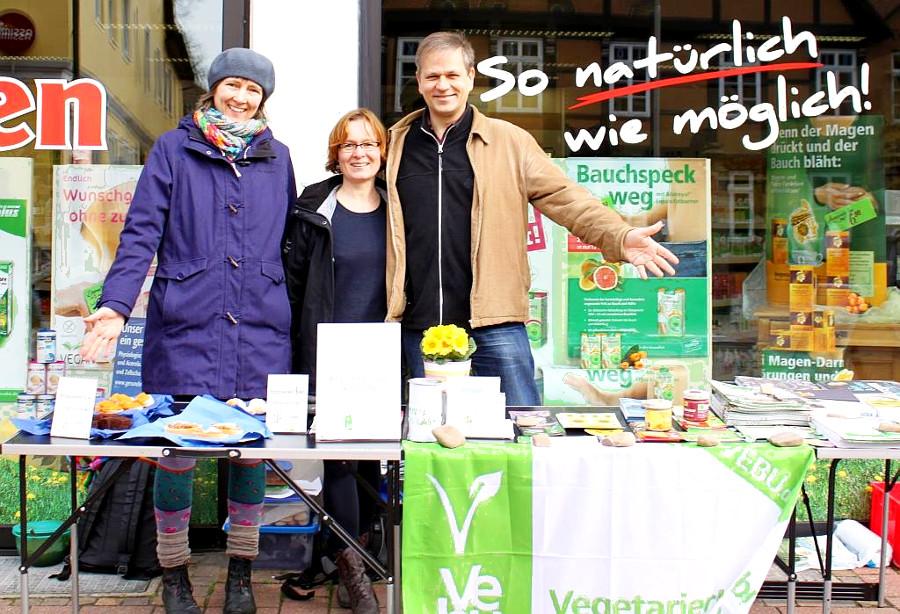 VEBU Regionalgruppe Nienburg - Infostand