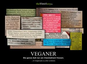 veganer Chemiefraß