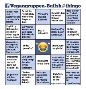 Facebook-Vegangruppen-Bingo