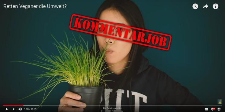 """maiLab: """"Retten Veganer die Umwelt""""? – Kritik"""