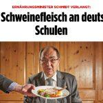 Christian Schmidt von der CSU bei der BILD im Interview
